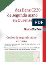 Mercedes Benz C220 de segunda mano en Ourense.pdf