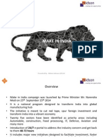 Make in India 2014 PPT