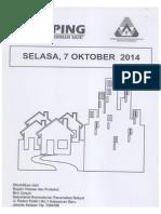 Kliping Berita Perumahan Rakyat, 7 Oktober 2014