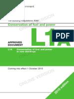 Building Regulations Part L1A_2010