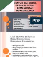 BENTUK DAN MODEL GERAKAN SOSIAL KEMANUSIAAN MUHAMMADIYAH - kelompok 3.pptx