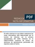 4. Redacción de la nota informativa.ppt