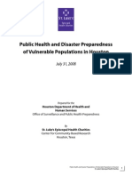 Disaster Preparedness of VP 2008