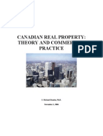 Canadian Real Property Theory