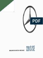 Mercedes-Benz 220S/SE - 1961