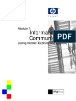 eBook Module 7 Information and Communication (Using Inte