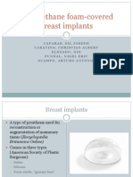 Polyurethane Covered Breast Implants
