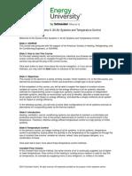 HVAC Systems II Transcript