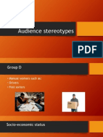 audience stereotypes