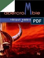 Joe Abercrombie  Taisul Sabiei Vol.1