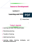 Lecture 3 -Human Resource Development