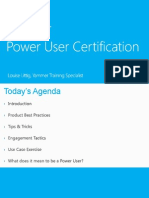 Power User Certification WPC 2014