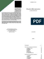 Lolli - Filosofia Della Matematica