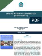 Evaluasi Pembangunan Pendidikan