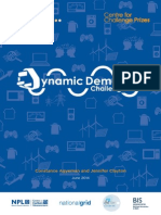 Dynamic Demand Challenge Prize