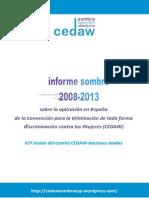 Informe Sombra CEDAW España
