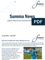 Summa Group News Sept 2014 PT1
