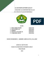 Teori Dan Praktik Tax Expenditure Dalam Uu Pajak Di Indonesia