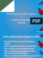 developing an er diagram tine