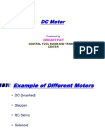 Example of Different Dc Motors