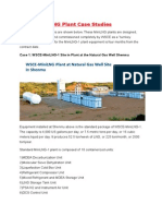 WSCE Mini LNG Plant Case Studies