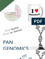 Pan Genomics
