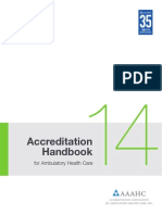 2014 AAAHC Accreditation Handbook