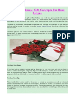 Roses for Xmas - Gift Concepts for Rose Lovers