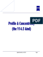 Profile Concentricity Theory