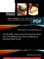 ENGLRES Food Quality vs. Food Brand