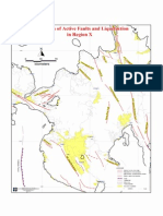 Active Faults and Liquefaction Map of Region X