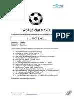 Football Mania Worksheets