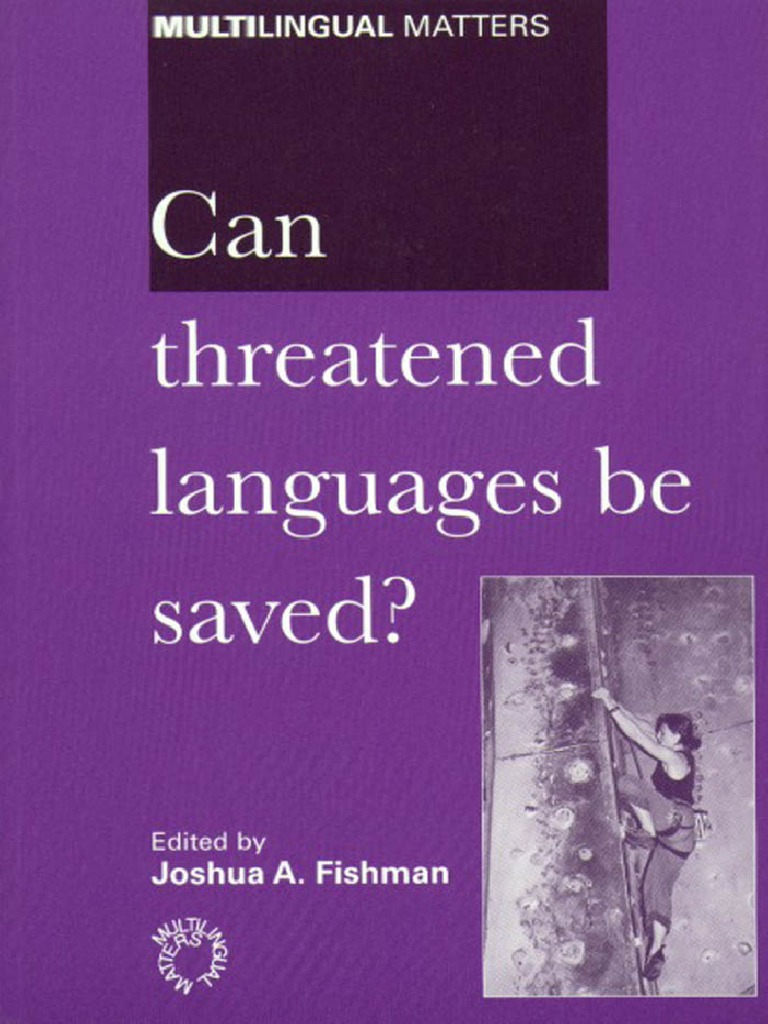 6d042f74011d Can Threatened Languages Be Saved.pdf   Translations   Linguistics