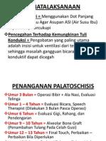 PENATALAKSANAAN PALATOSCHISIS