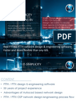 Real FTTH FTTX Network and Engineering Software Advantages