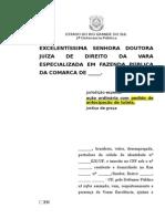 Ação ordinária contra ato administrativo-ANTEICPAÇÃO DE TUTELA-DEFICIENTE FÍSICO-XV23_ok.doc