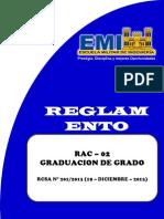 RAC 02 Graduación de Grado