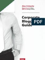 Blogsessive.com - Corporate Blogging Guide - By Alex Cristache