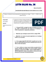 boletin No 36 Publicacion Correccion Descripcion Materiales Codigo NSN - OTAN.pdf