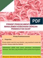 Prinsip Pendokumentasian Dg Pendekatan Soap