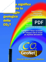 Italian Brochure CO2GeoNet Protected