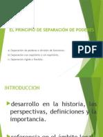 EL PRINCIPIO DE SEPARACIÓN DE PODERES DIAPOS.pptx