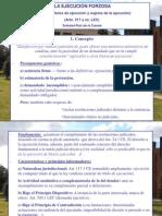 Power Point, 1. Ejecución Forzosa (concepto, títulos y partes).ppt