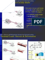 09 Stresses and Deformations Arising From Torsional Loading