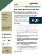 UWM Economic Scorecard 2014 3rd Quarter