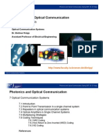 7 Optical Communication Systems