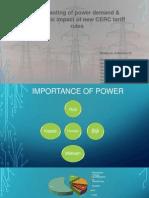 impact of economy on power tariff