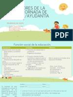 INDICADORES DE LA 1 JORNADA DE INMERSION.pptx