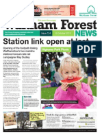 Waltham Forest News - 6th October 2014