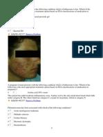 General Dermatology MCQs